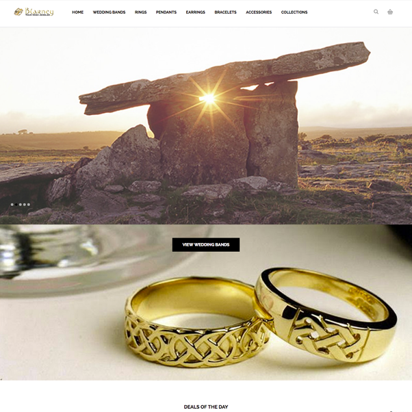 BlarneyHome.com needed an e-commerce website reaturing Irish jewelry with thousands of item combinations. The site is built with the latest open source e-commerce content management system